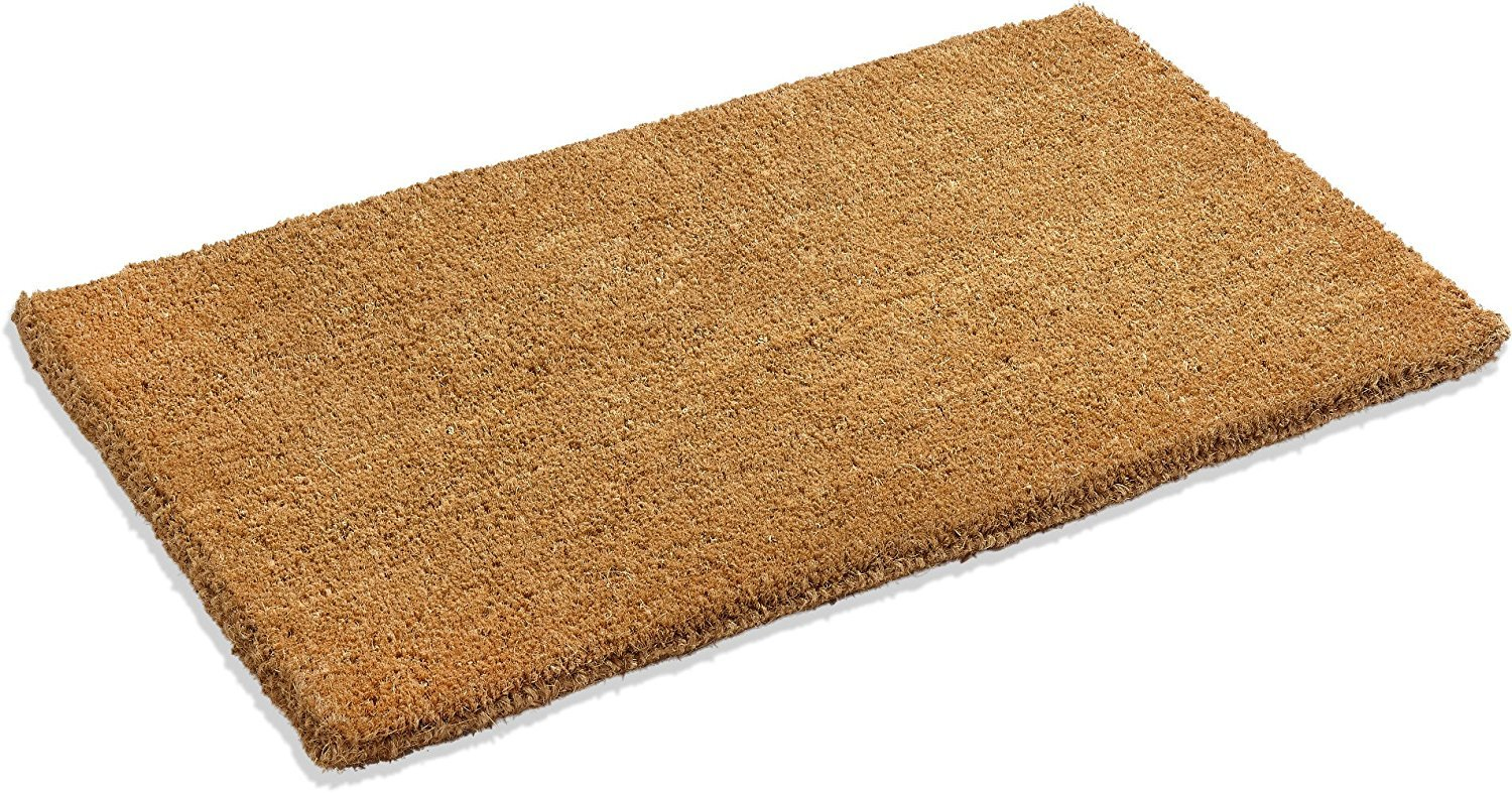 Amazon.com : Kempf Natural Coco Coir Doormat, 18 by 30 by 1-Inch ...