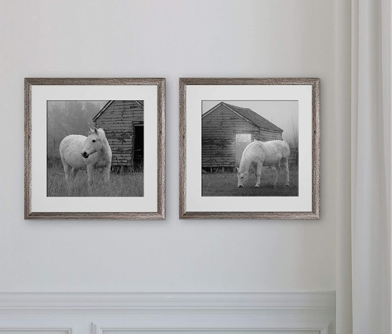 WEXFORD HOME Morning Pasture-2 Piece Set Art Print, 16X16