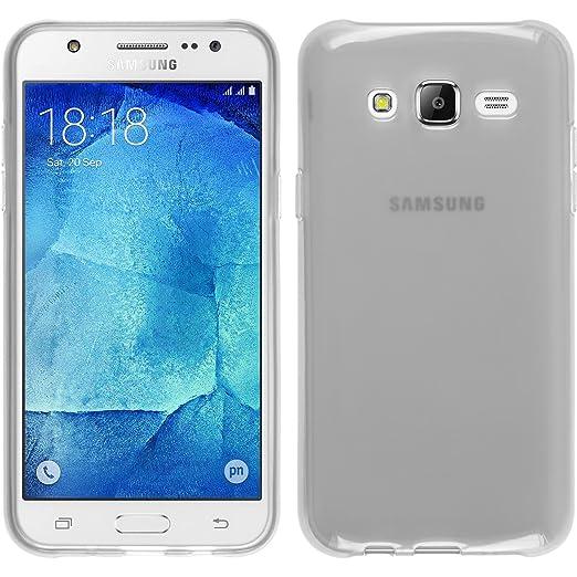 181 opinioni per PhoneNatic Custodia Samsung Galaxy J5 (2015- J500) Cover bianco trasparente