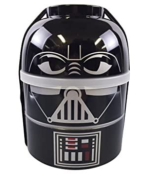 Star Wars lacquerware two-stage lunch box/Darth Vader