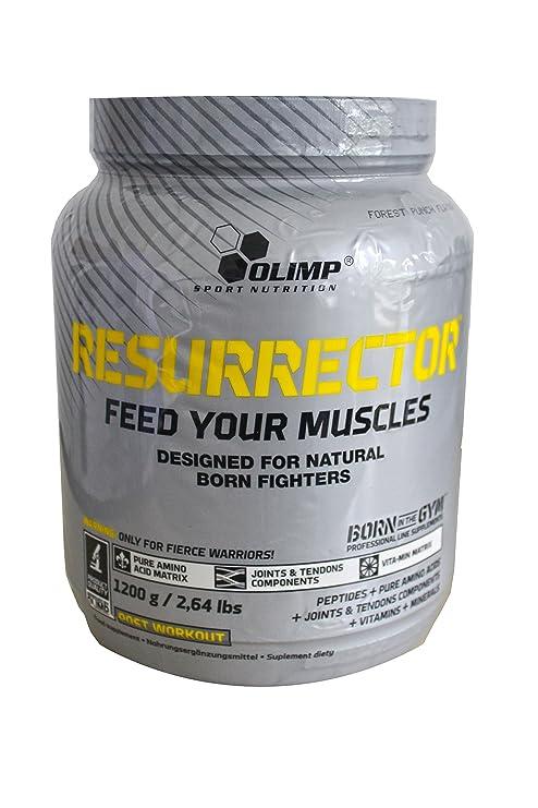 Olimp Sport Nutrition ResurrectoR Post Entrenamiento, Sabor Frutos de l Bosque - 1200 gr