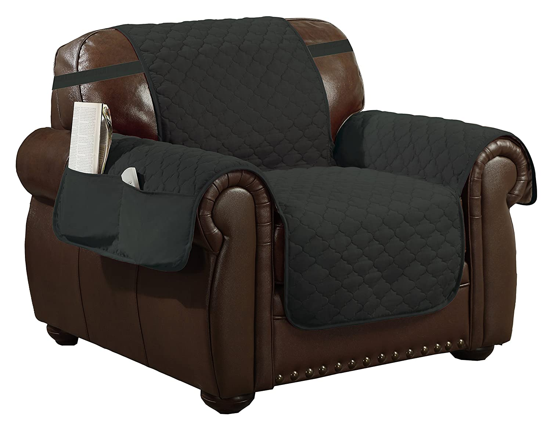 Amazon.com: Cobertor de sillón reversible resistente ...