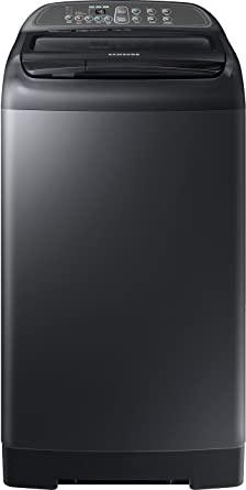 Samsung 7.5 kg Fully-Automatic Top Loading Washing Machine (WA75M4400HV/TL, Black)