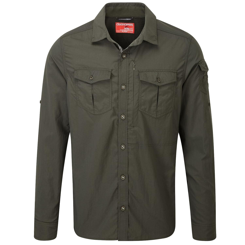 TALLA XXL. Craghoppers Mens NL Adventure Long Sleeve Button Shirt