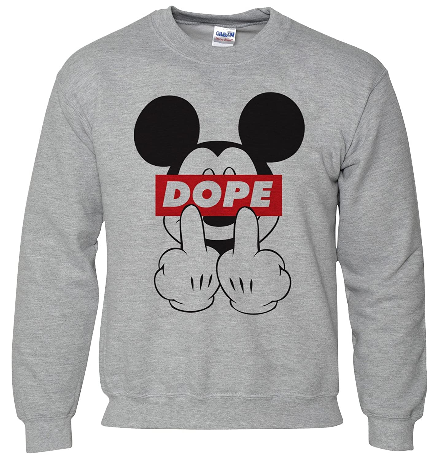 MICKEY MOUSE DOPE SUPREME JUMPER SWEATSHIRT SWEATER 42 44