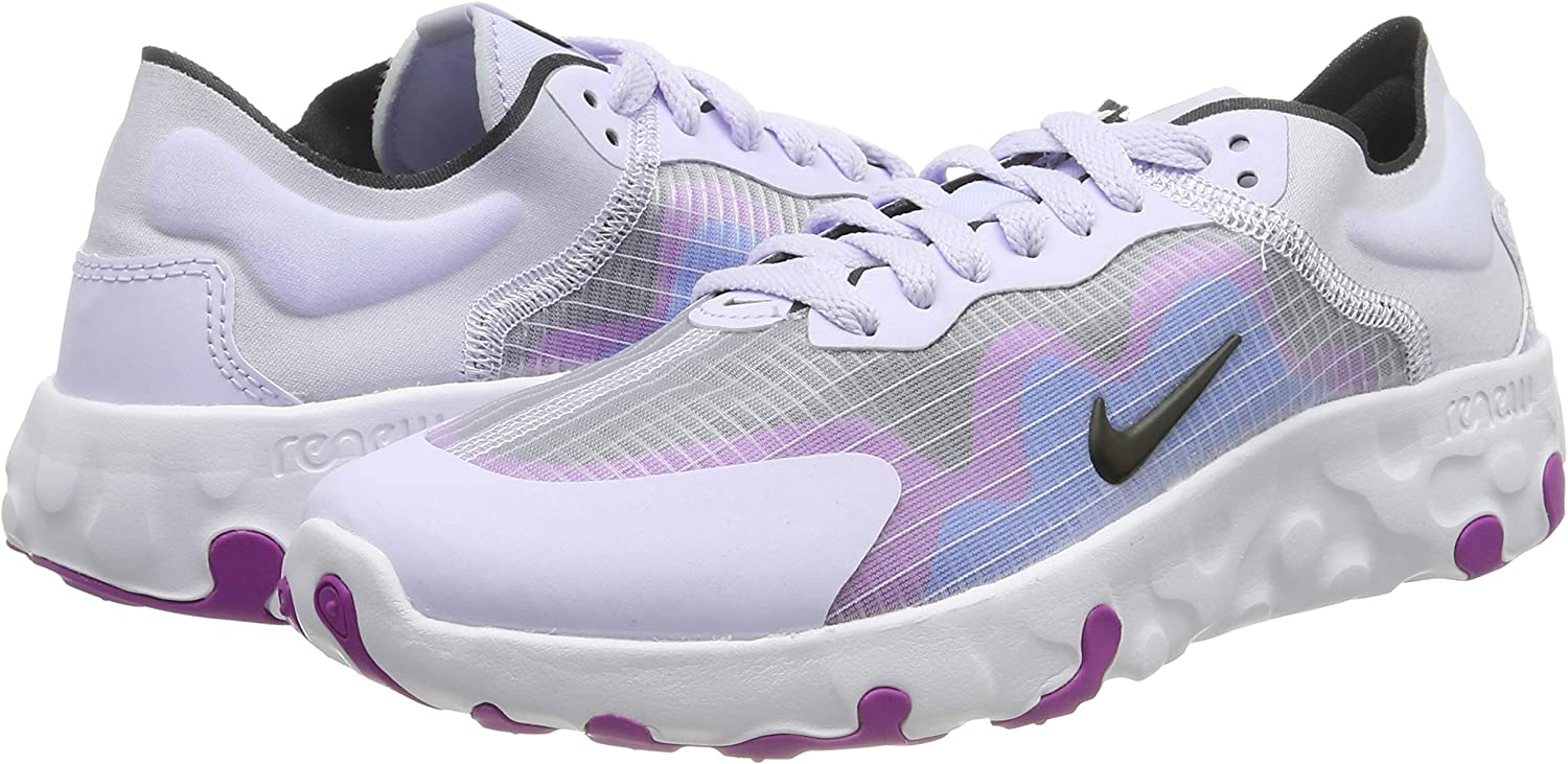 Nike Wmns Renew Lucent, Zapatillas de Running para Mujer, Morado (Amethyst Tint/Black/Photo Blue/Hyper Violet/White 500), 40.5 EU: Amazon.es: Zapatos y complementos