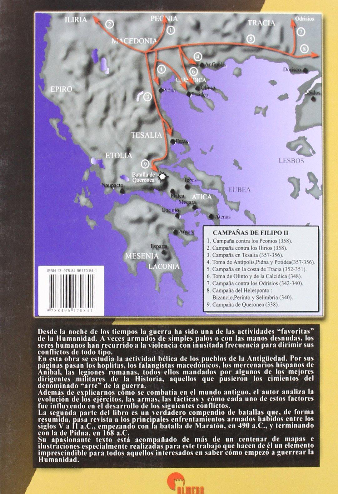La guerra en el mundo antiguo: Víctor Barreiro Rubín: 9788496170841: Amazon.com: Books