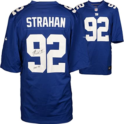 michael strahan jersey