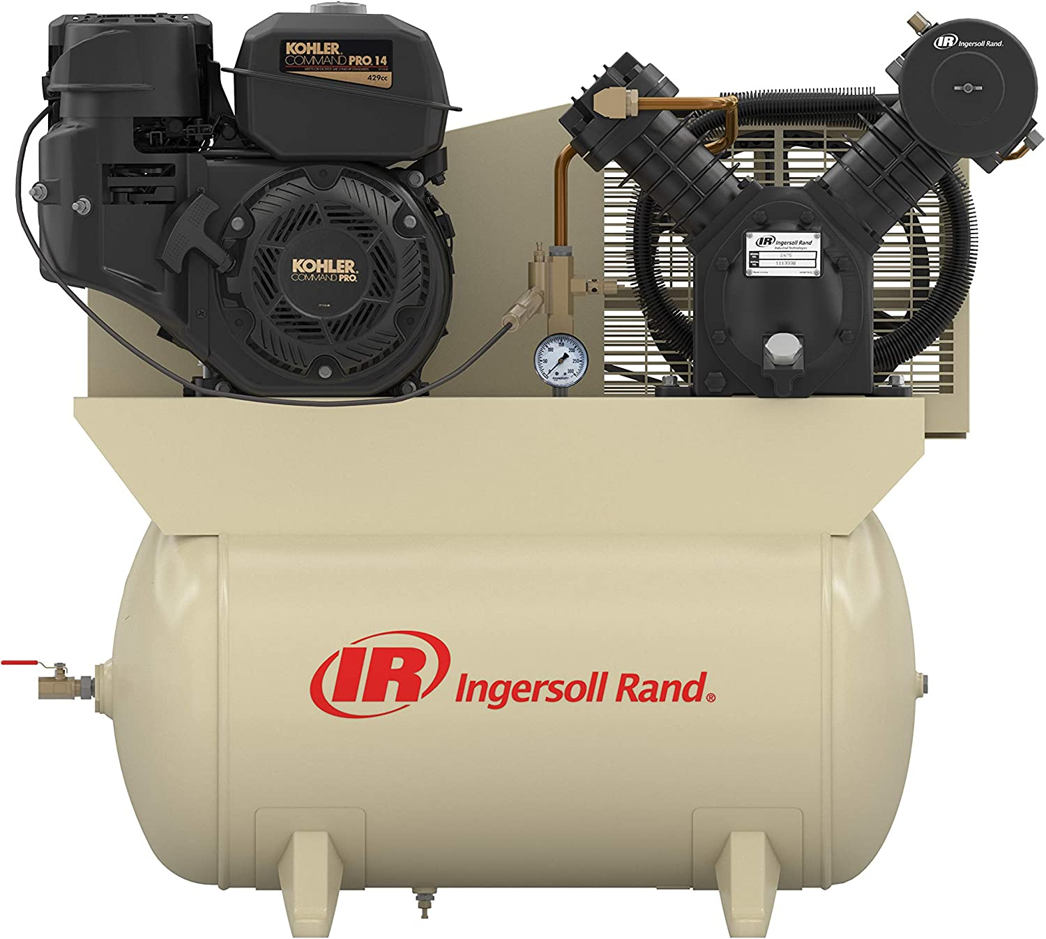 2475F14G 14hp 30 gal Two-Stage Compressor (Gas)