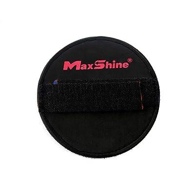 Maxshine Black Hand Pad Holder: Automotive