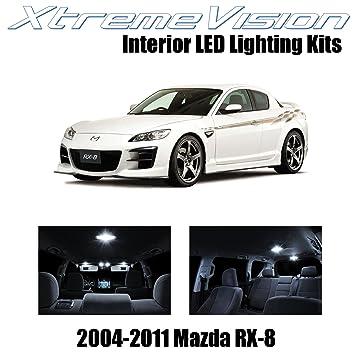 XtremeVision Mazda RX 8 RX8 2004 2014 (5 Pieces) Pure White Premium
