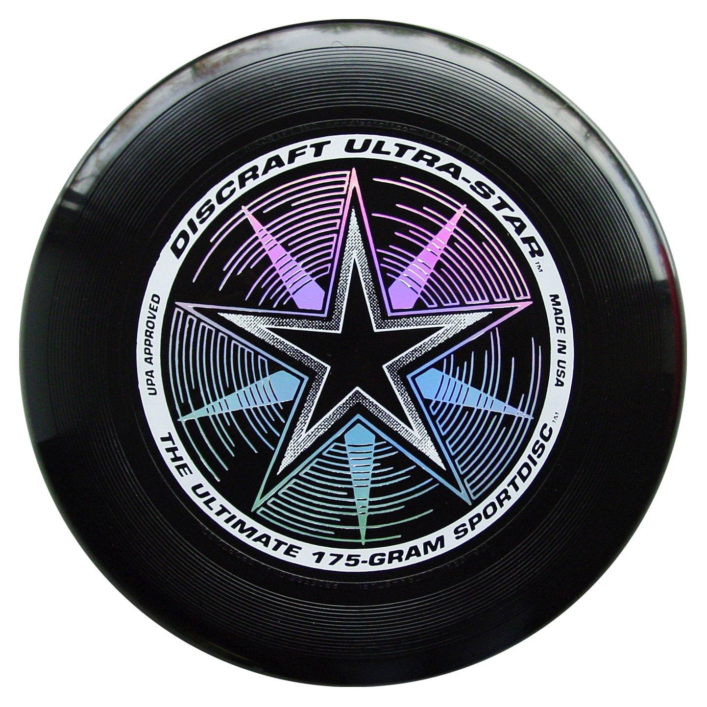 Frisbee Profesional Discraft 175gr/27cm Dark All Black Delux