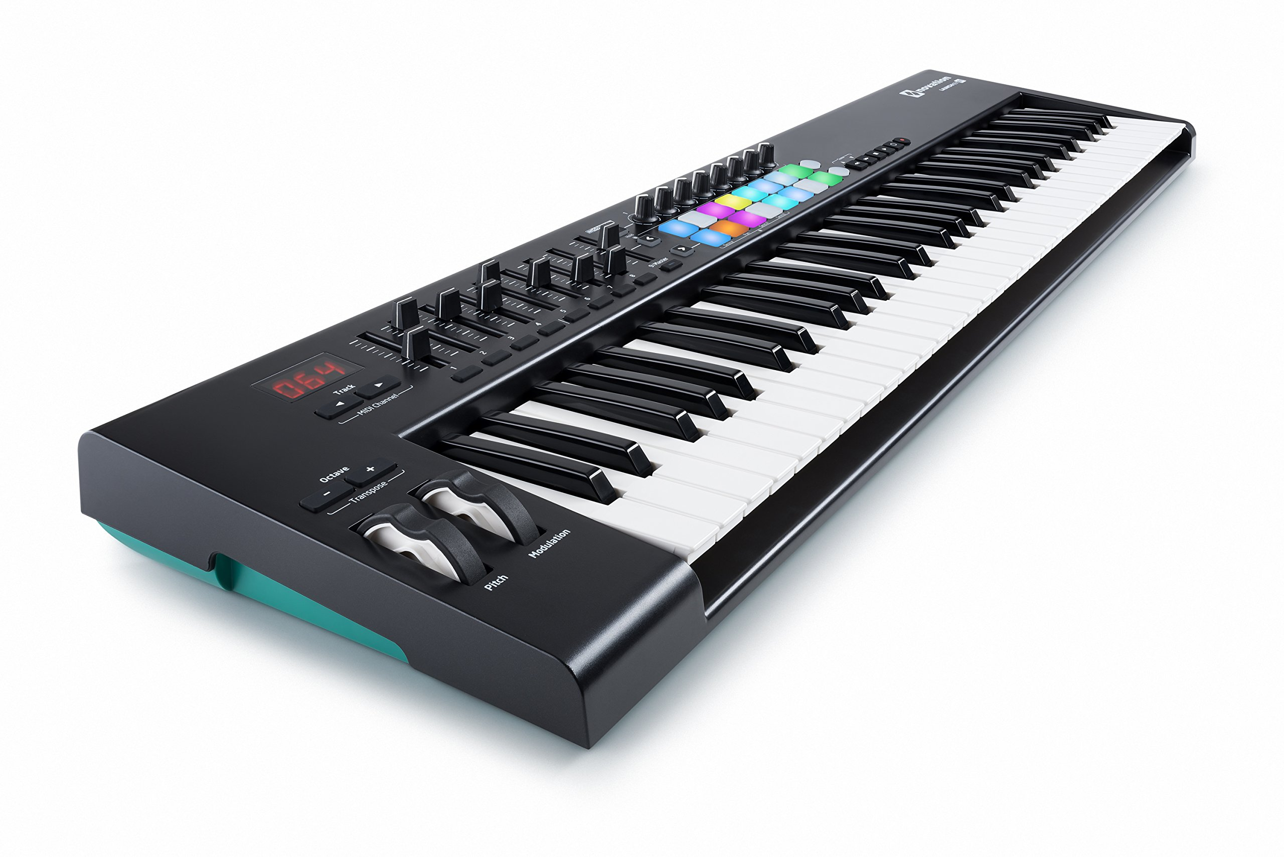 Novation Launchkey 61 USB Keyboard Controller for Ableton Live, 61-Note MK2 Version by Novation (Image #1)