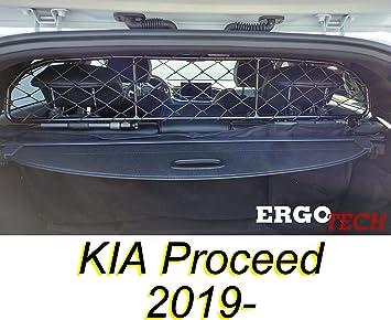 Ergotech Trennnetz Trenngitter Für Kia Proceed Rda65 Hxxs8 Für Hunde Und Gepäck Sicher Komfortabel Für Ihren Hund Garantiert Auto