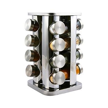 Orii GSR2921-S Acero Spice Rack, Steel caps