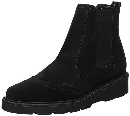 Esprit Damen Josette Bootie Chelsea Boots Schwarz 001 Black 40