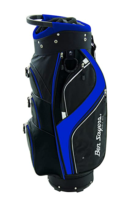Ben Sayers - Bolsa Unisex DLX para Carrito, Color Negro/Azul ...