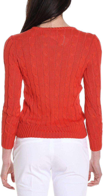 Ralph Lauren Pull Femme Rouge rouge Rouge 42: Amazon