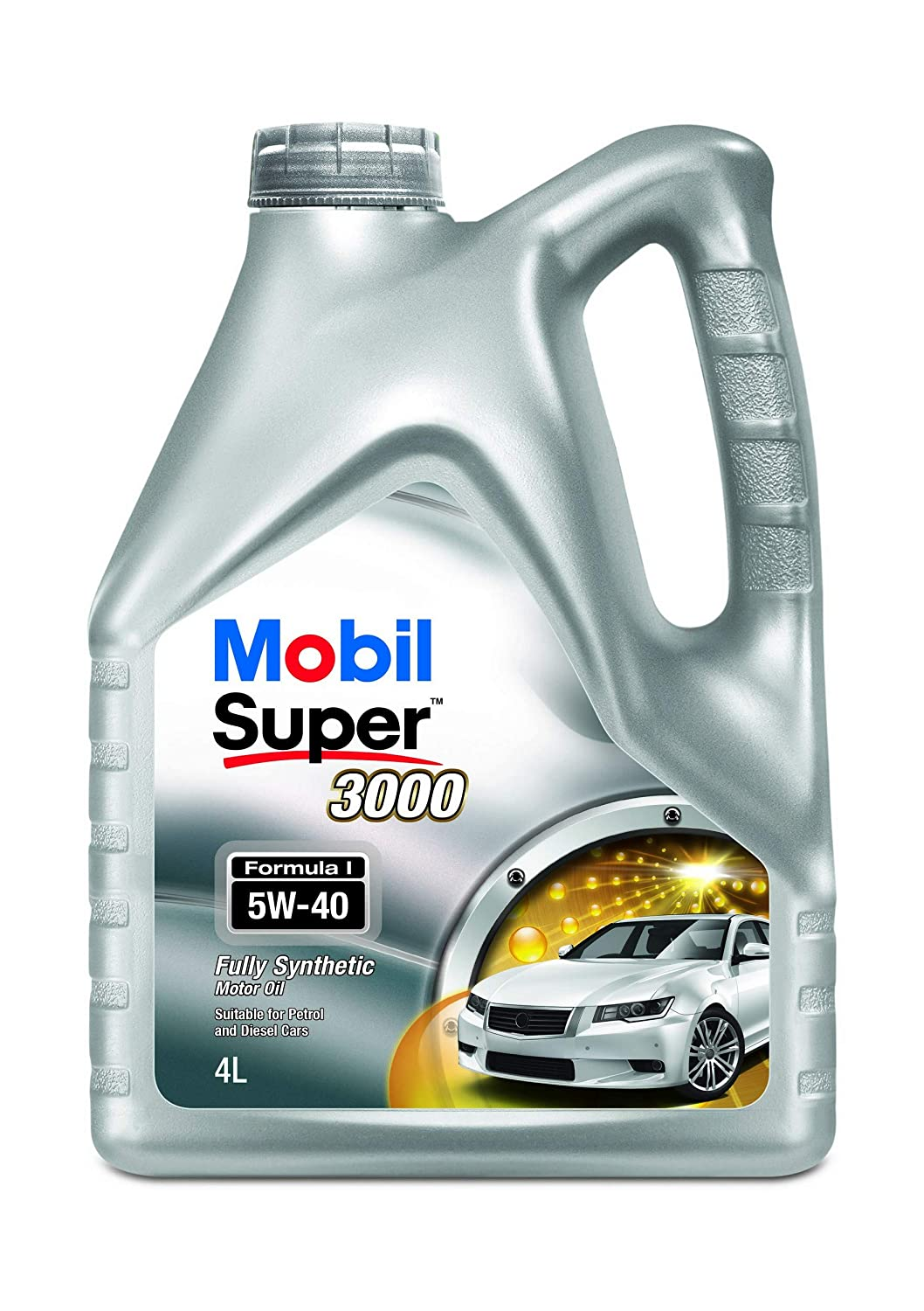 Mobil Super 3000 Formula 1 5w 40 Api Cf Fully Synthetic Engine Oil