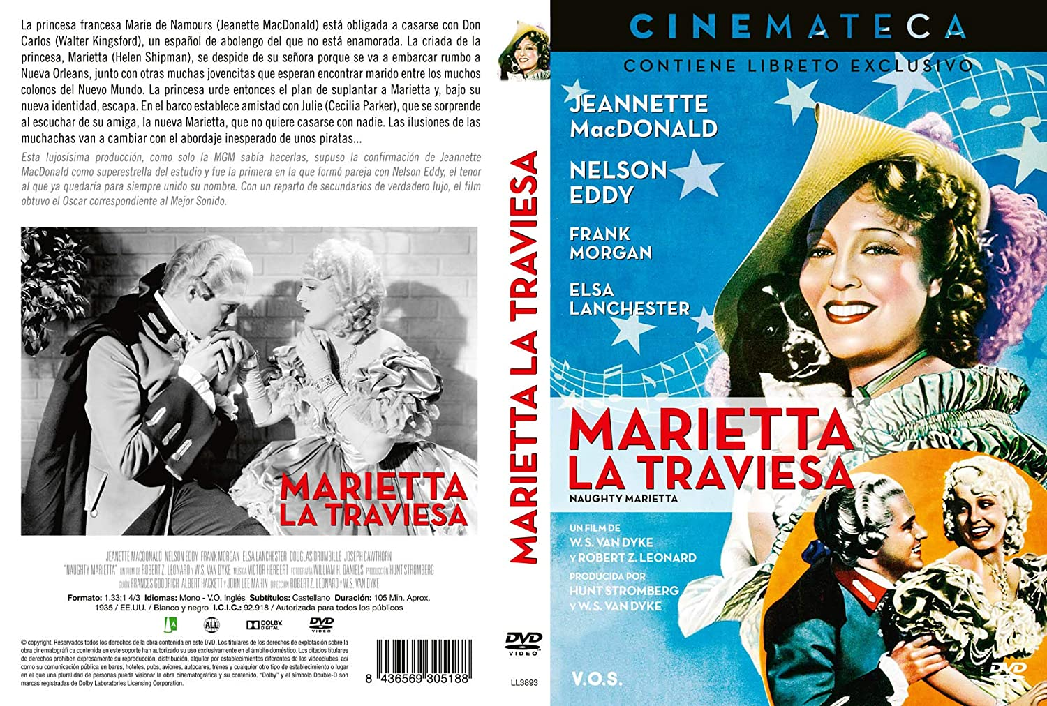 Amazon.com: Marietta La Traviesa - Naughty Marietta (Non USA Format): Movies & TV