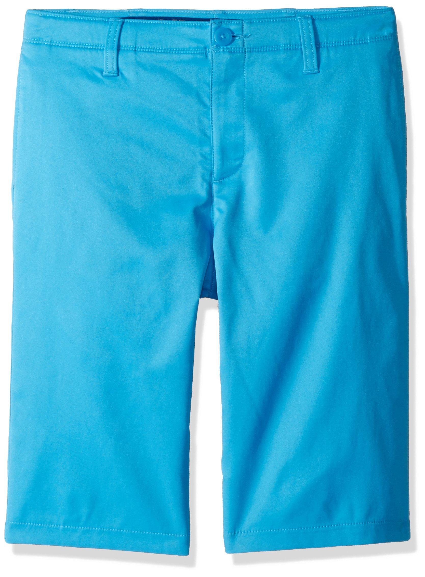 Under Armour Boys' Match Play Polo Shorts, Canoe Blue (713)/Canoe Blue,8