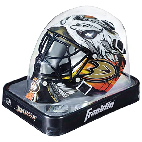 Amazon Com Franklin Sports Nhl Anaheim Ducks League Logo Mini