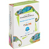 Hammermill Cardstock, Premium Color Copy, 100 lb, 8.5 x 11-1 Pack (250 Sheets) - 100 Bright, Made in the USA Card Stock, 1200
