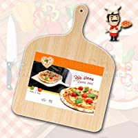 Verbania Cook PALA DA PIZZA IN LEGNO NATURAL BEECHWOOD PIZZA PADDLE PEEL GIROPIZZA