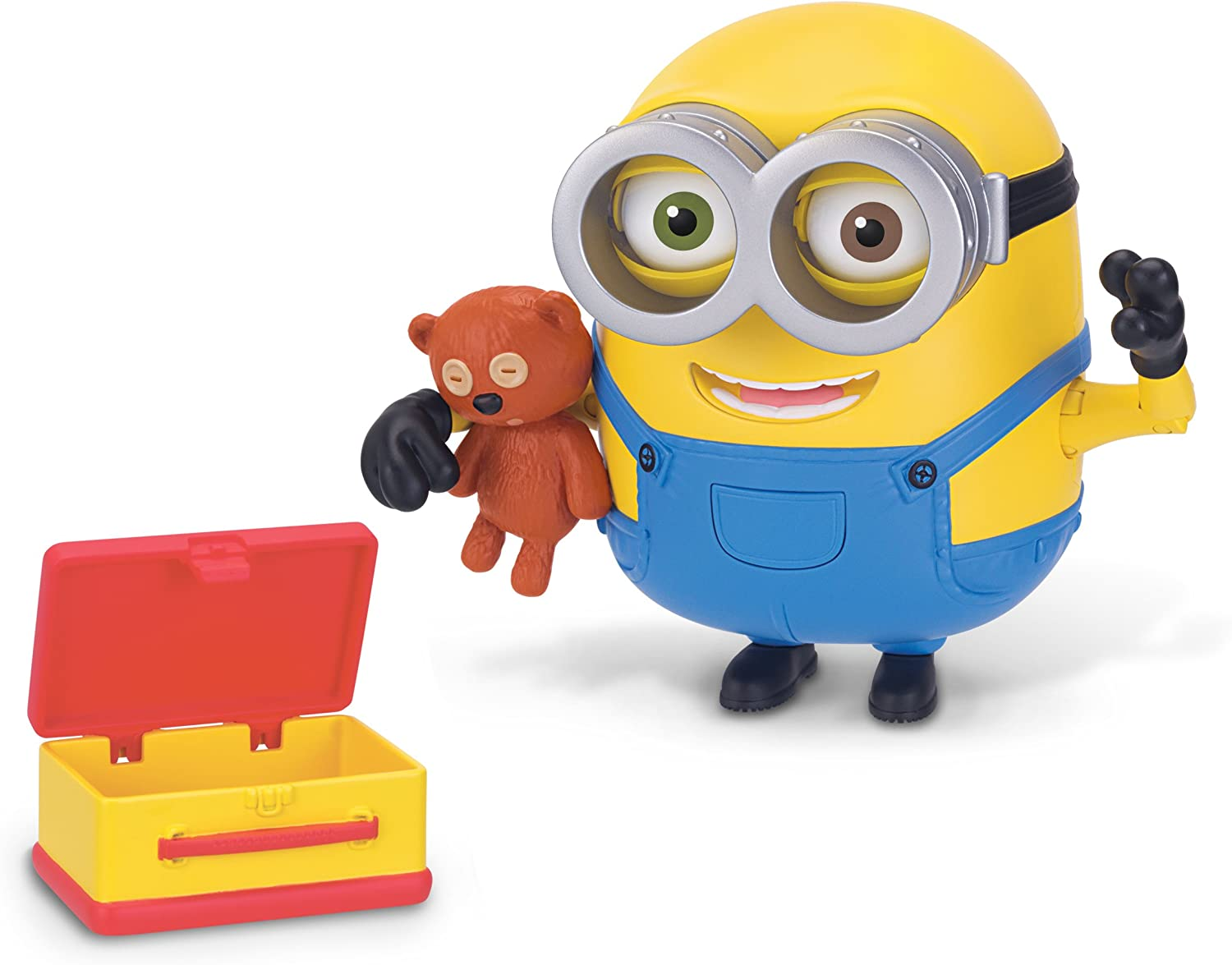Despicable Me Minions Deluxe Action Figure – Bob with Teddy Bear: Amazon.es: Juguetes y juegos