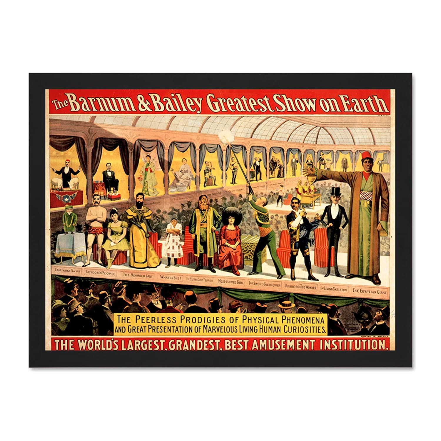 POSTER EXHIBITION OF CERAMICS AND PRINTS ARTWORK USA VINTAGE REPRO FREE S//H