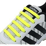 [Joyshare] 靴紐 結ばない ゴム 靴ひも シリコン シューレース 伸縮性 ほどけない スニーカー紐