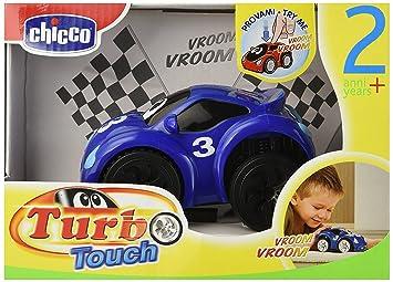 Chicco - Turbo Touch, Fast Blue, coche de cuerda (00061780000000): Amazon.es: Bebé
