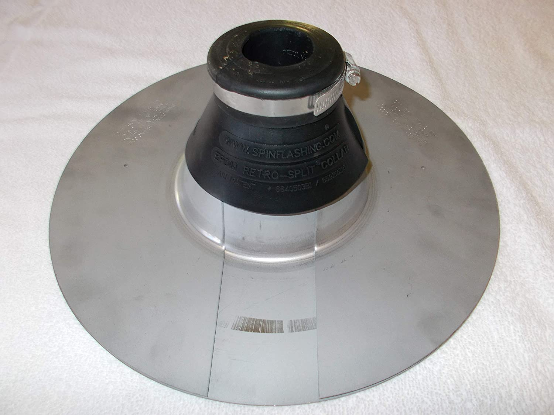 "1/"" Mast Retro-Spin Flashing Kit Electric Weatherhead Mast Retro-Spin Flashing Kits"