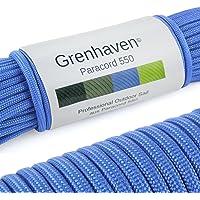 Grenhaven Paracord touw in verschillende kleuren Paracord koord parachute koord universeel inzetbaar survival touw met 7…
