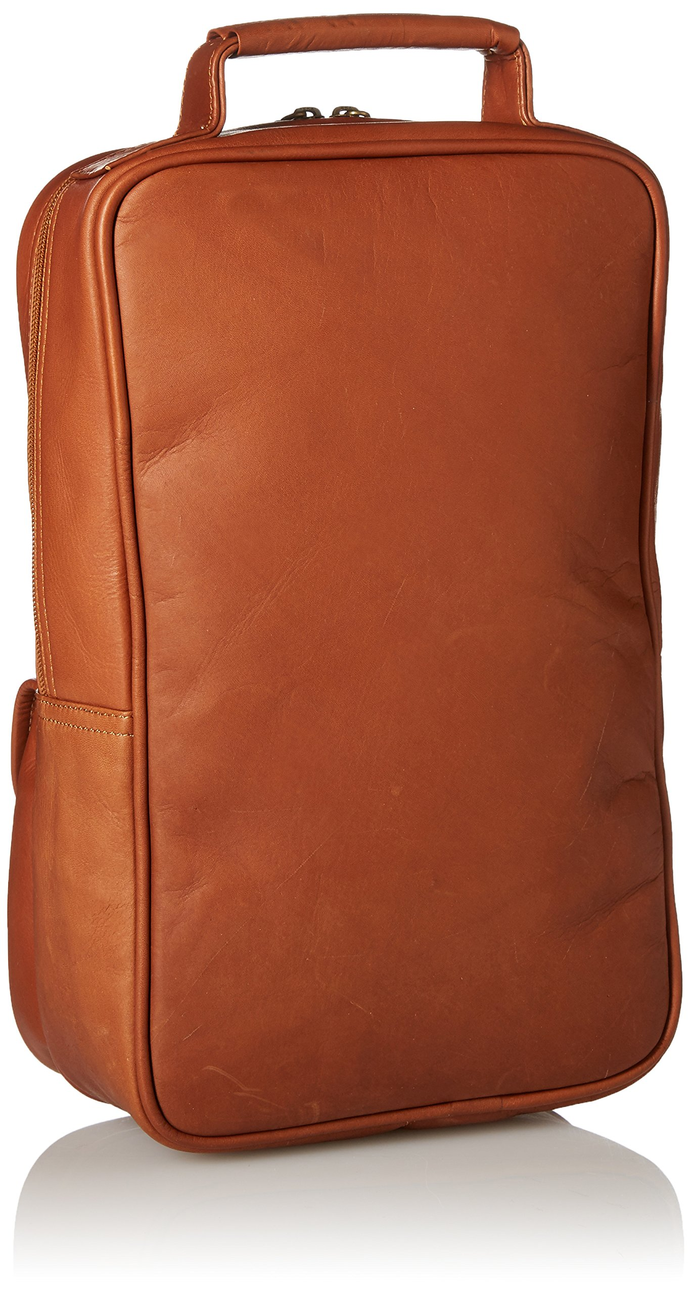 Claire Chase Upright Golf Shoe Bag, Saddle by ClaireChase (Image #2)