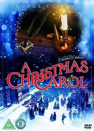 A Christmas Carol Dvd 1984 Amazoncouk George C Scott Frank