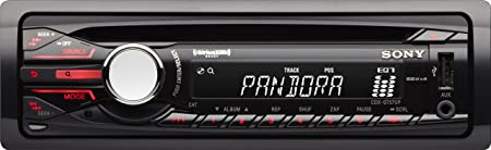 Sony CDXGT57UP Digital Media CD Car Stereo Receiver with Pandora Control Discontinued by Manufacturer