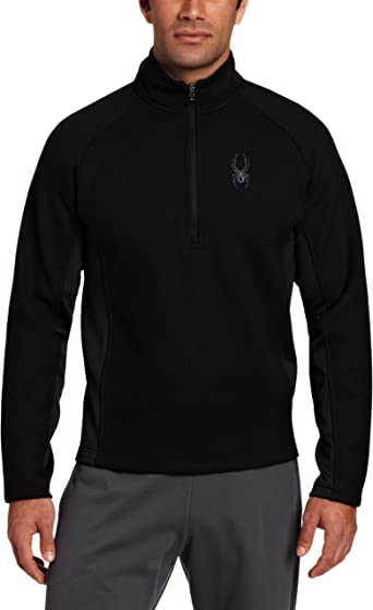 Spyder Boy/'s Outbound Half Zip Mid Weight Core Sweater