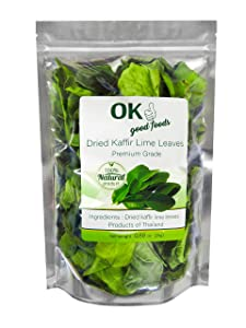 OK Good Foods, Kaffir-Lime-Leaves, Dried | Premium Grade 25 G /0.88 OZ