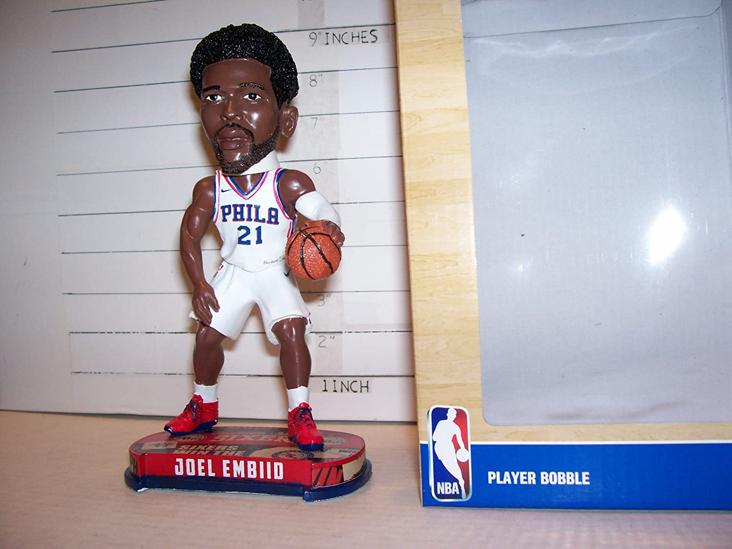 2018 JOEL EMBIID FIRST (ROOKIE) BOBBLEHEAD PHILADELPHIA 76'ERS (LOW PRINT RUN !) Forever