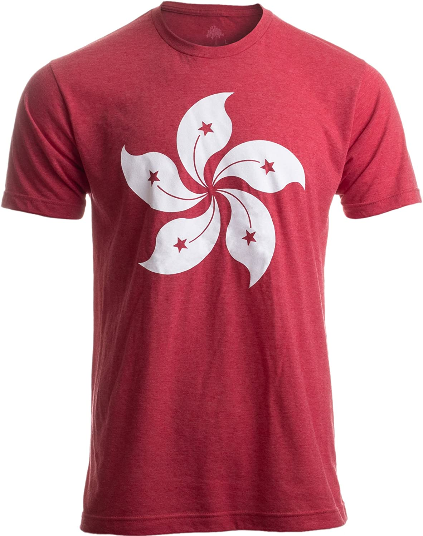 Hong Kong Flag | Bauhinia Orchid Flower HK China Poster Art Kowloon Asia T-Shirt
