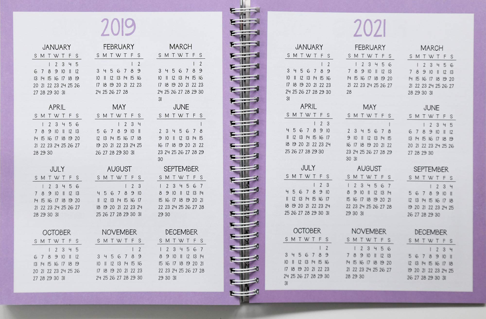Sarahs Scribbles 2019-2020 16-Month Weekly/Monthly Planner ...