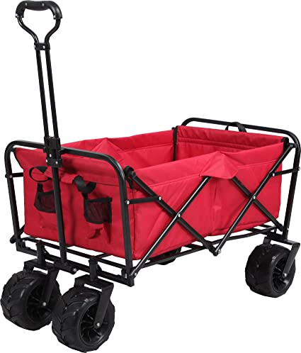 Meister – Carro plegable, color rojo, 6816930
