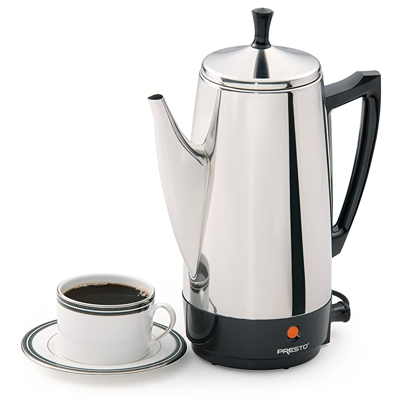 Presto 02811 12-Cup Stainless Steel Coffee Maker Review