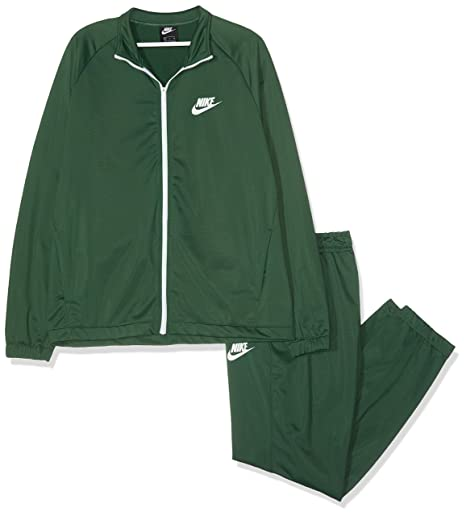 new styles ca8f7 140cc Nike Men s M NSW CE TRK SUIT PK BASIC Tracksuit, Fir White, Small