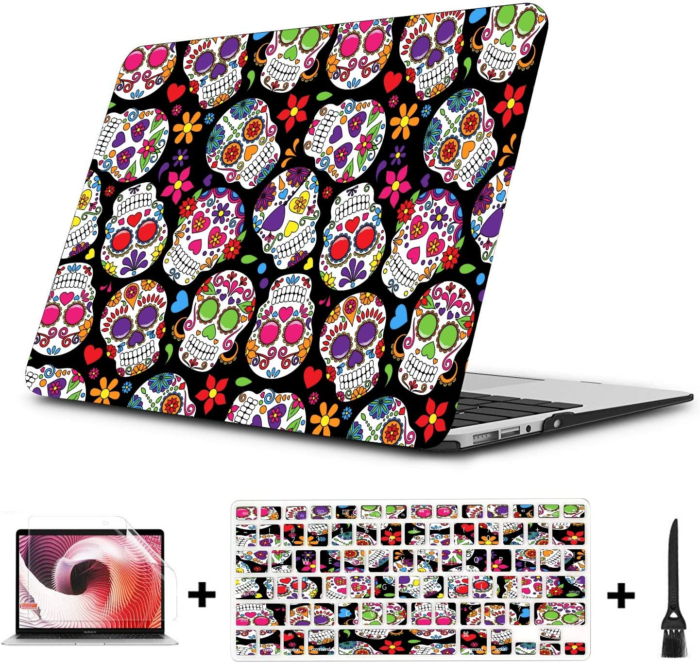 New Air13 // Air13 // Pro13 // Pro15 Laptop Case for MacBook Hip Hop Grate-ful Dead Dancing Bear Laptop Computer Hard Shell Cases Cover