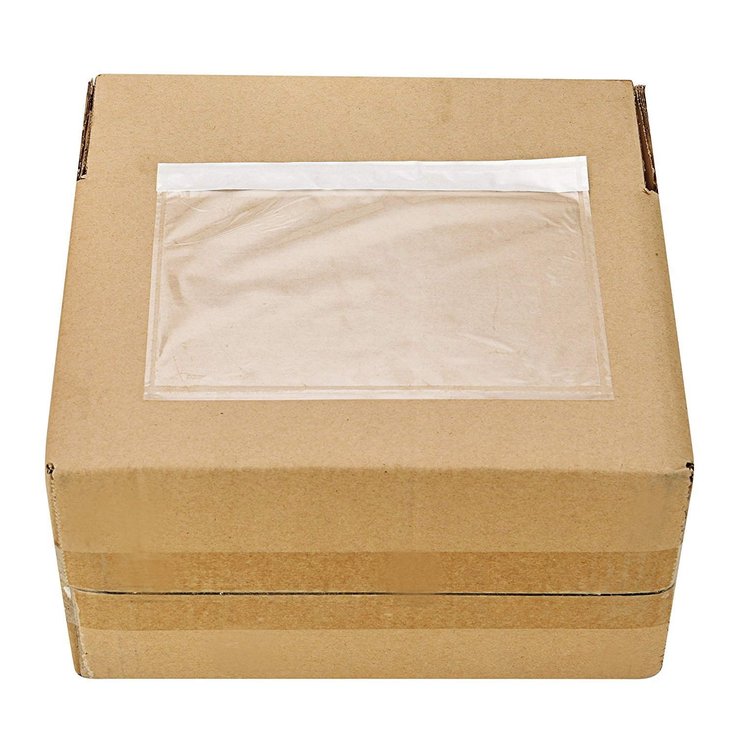 MFLABEL - Clear Adhesive Top Loading Packing List 7.5'' x 5.5'' Shipping Label Envelopes Pouches - 500pcs by MFLABEL (Image #3)