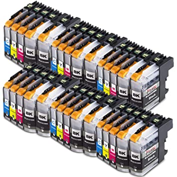 Alaskaprint LC223XL Reemplazo para Brother LC223 Pack 30 Cartuchos ...