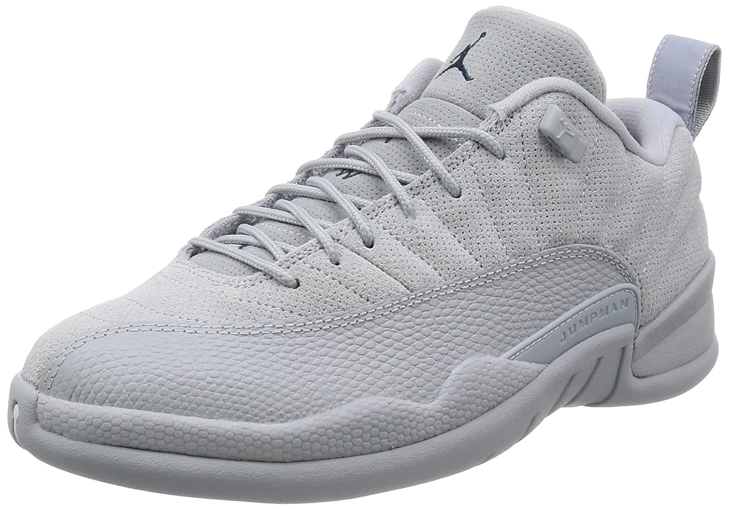 best service bad4a 8b895 Jordan Men Air 12 Retro Low (Wolf Grey/Armory Navy-electrolime)