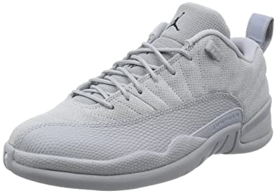 competitive price e1030 97be7 Jordan Men s Air 12 Retro Low, Wolf Grey Armory Navy, ...